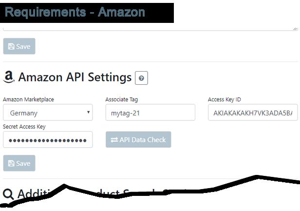 Requirements - Amazon